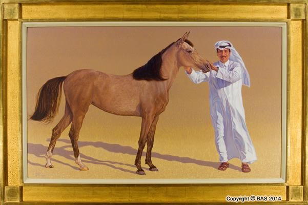 arabian horse painting,arabian painting,arabian horse,art of bas,BAS,wildlife art
