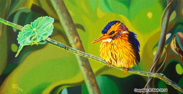 kingfisher painting,kingfisher oil painting,bird painting,canvas limited edition,art of bas,BAS,wildlife art,wildlife painting